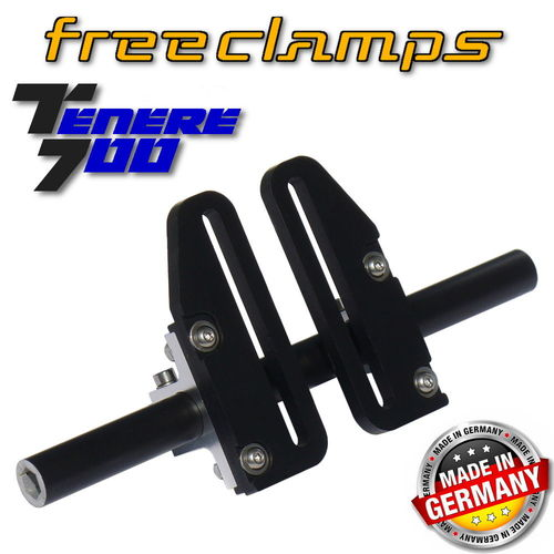 Universal clamps for Sat-Nav mounting - T700